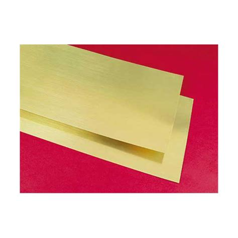 thick sheets brass sheets 6 inches x 12 inches x 005 inch thick pkg