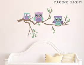 children s owl wall sticker contemporary wall stickers