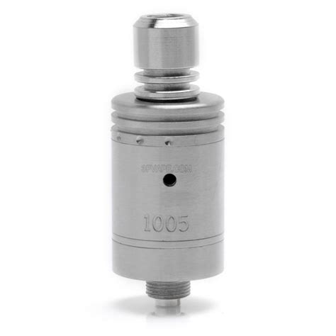 Steel Diamter 17mm anima style rda rebuildable atomizer silver stainless steel 17mm diameter 3fvape
