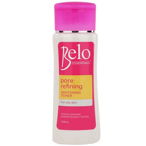Toner White belo essentials pore refining whitening toner great for