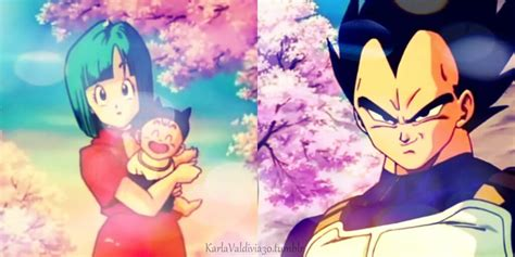 imagenes de vegeta triste bulma trunks y vegeta by karlavaldivia30 on deviantart