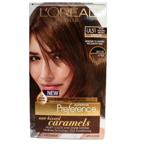 loreal hair color brown hair l39oreal excellence nondrip creme protection
