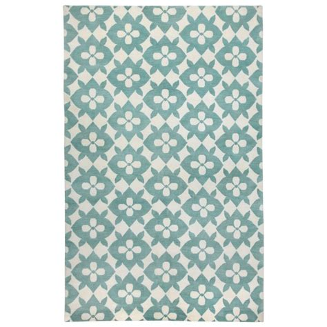 layla grayce rugs cococozy blossom pale blue knotted wool rug layla grayce currey play room rugs 2