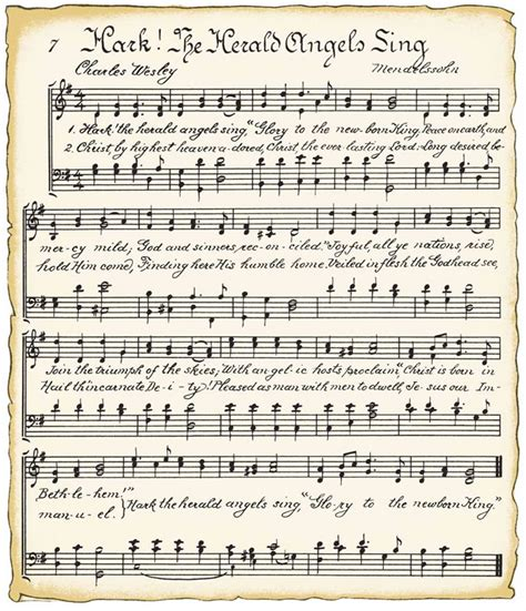 sheet music paper fan christmas ornaments free printable