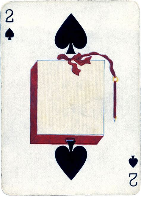 vintage playing card images