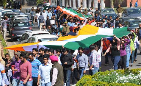 won t hesitate to use force says abvp