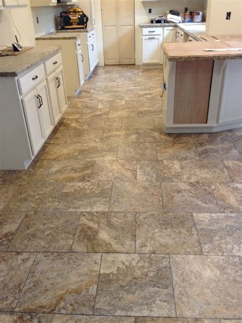 Vinyl Flooring For Kitchens Luxury Vinyl Traditional Kitchen Sacramento By Precision Flooring