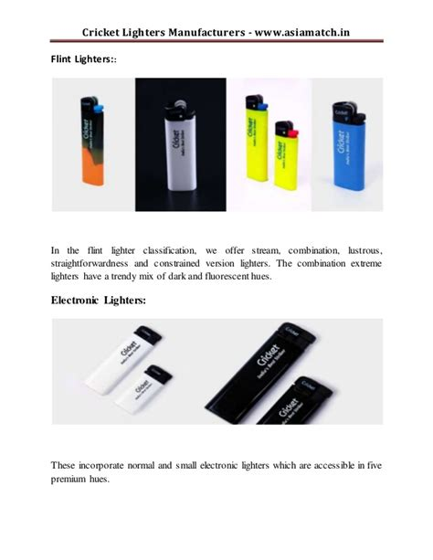 Cricket Lighter Electric cricket lighters manufacturers