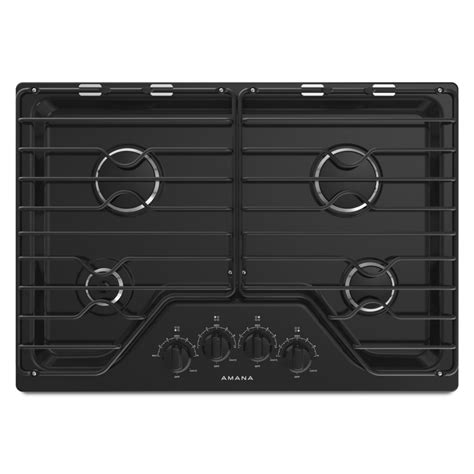 Amana Cooktop Agc6540kfb 30 Inch Gas Cooktop With 4 Burners
