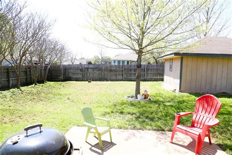 affordable backyard makeovers easy backyard makeover the before love renovations