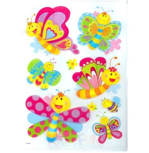 kinderzimmer deko pink deko sticker schmetterlinge wandtattoo kinder