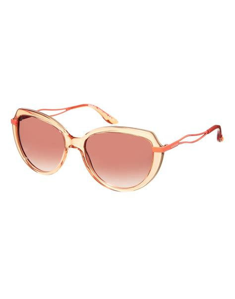 max co max co oval sunglasses at asos