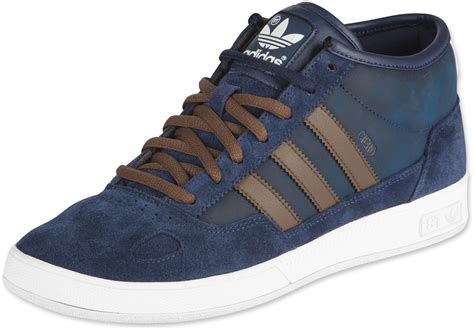 Adidas Viero Blue Black adidas ciero mid st shoes blue brown