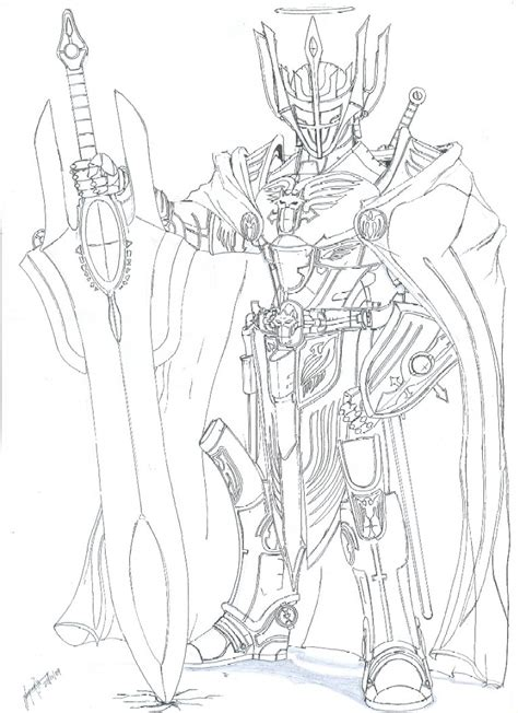 anime coloring pages vire knight heaven knight by whitehawk91 on deviantart