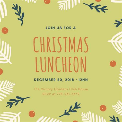 wording for employee holiday luncheon bird appreciation luncheon invitation templates by canva