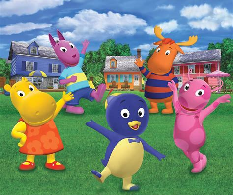 Backyard Again Ateli 234 Coloriz The Backyardigans