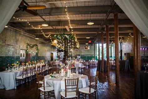 The Engine Room by Bright Whimsicial Wedding At The Engine Room In