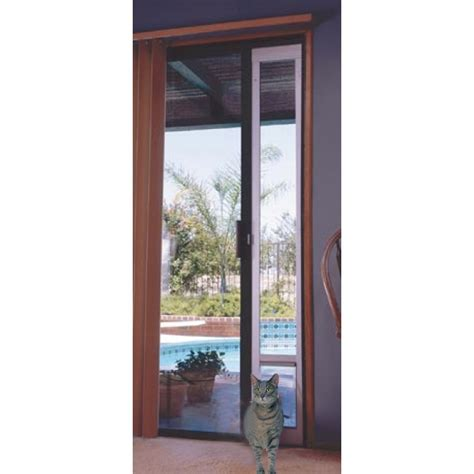 How To Fit Patio Doors Aluminum Patio Pet Panel Highest Quality Easiest To Install