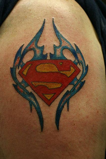 small superman tattoo superman tattoos for superman5 tattoos