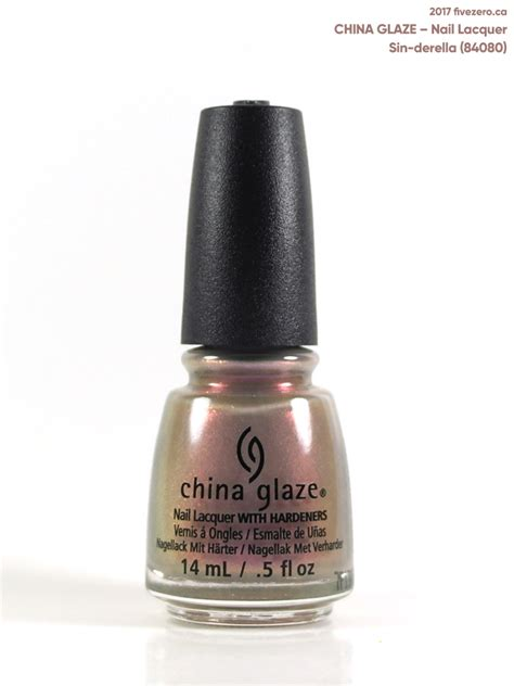 China Glaze Nail by China Glaze Derella Nail Lacquer Swatch Review