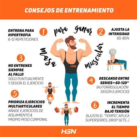 como ganar musculo en casa c 243 mo ganar masa muscular consejos m 225 s eficaces