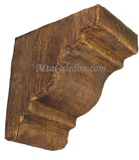 Faux Wood Corbels by M 26 Faux Wood Corbel Mta Caledon