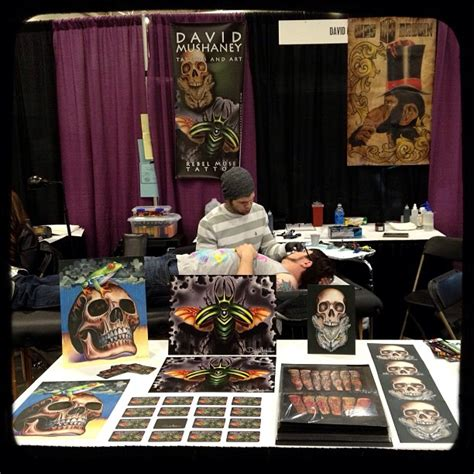 tattoo convention booth set up gambling rose tattoo convention david mushaney tattoos