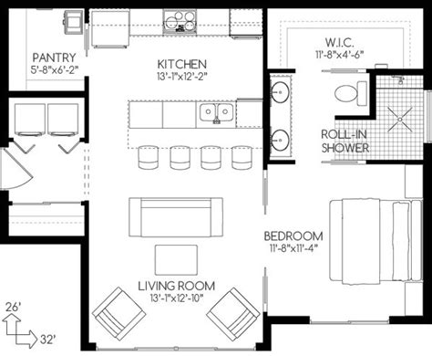 Small House Floor Plan by 25 Best Ideas About Small House Plans On Pinterest
