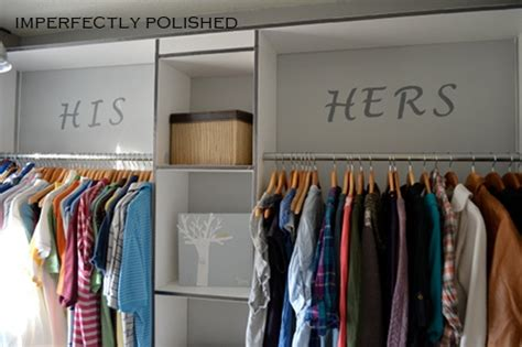 Bedroom Closet Organization Ideas The Idea Room Hanging Laundry Hers