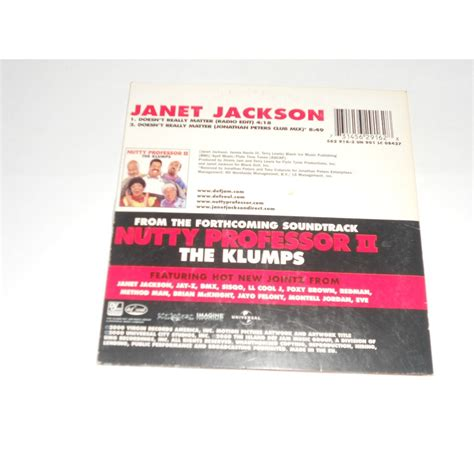 Janet Jackson Doesnt What A Shopping Cart Is by Doesn T Really Matter By Janet Jackson Cds With Willy60
