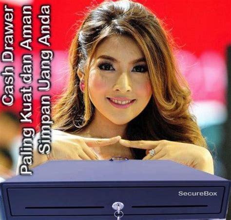 Laci Uang Drawer Cashdrawer Pos Kasir Rj11 Automatic Open automatic drawer laci kasir rj11 merek secure box
