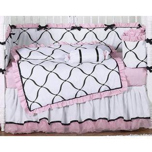 Pink Black And White Crib Bedding Sweet Jojo Designs Princess Black White And Pink Collection 9pc Crib Bedding Set Baby Baby