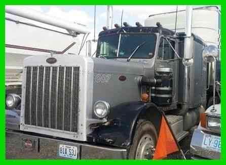 freightliner fl  sleeper semi trucks