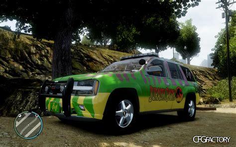 jurassic vehicles jurassic park safari car cfgfactory