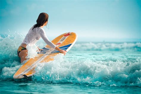wallpaper girl surf bathroom interior design surfing girls wallpaper