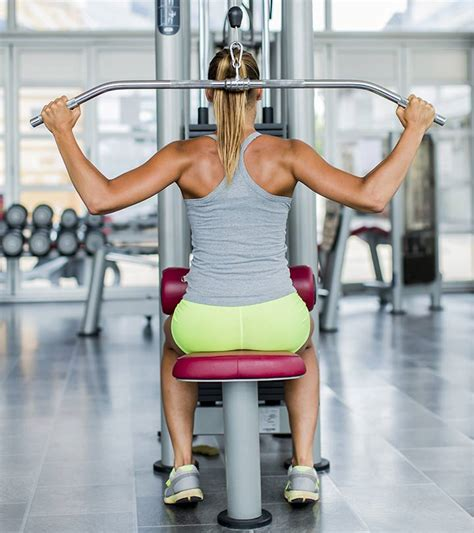 4 step lat pulldown exercise for weight loss