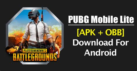 pubg lite pubg mobile lite apk obb for android 2018