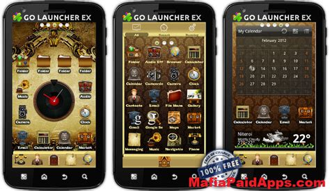 vintage themes for android vintage go launcher theme v1 0 unlocked mafiapaidapps
