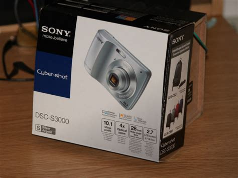 Kamera Sony Dsc S3000 sony cyber dsc s3000 101 mp digital silver for