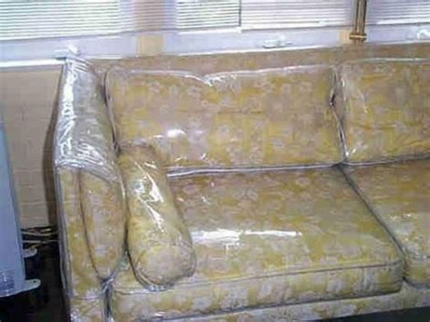 couch covered in plastic plastic sofa covers plastic sofa cover okaycreations thesofa