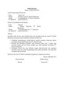 contoh surat kuasa perwakilan untuk berbagai
