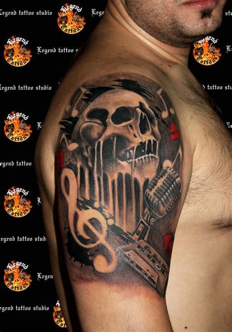 badass tattoos designs of skulls images