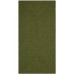 6 ft rugs safavieh braided green 2 ft 3 in x 6 ft rug runner brd315a 26 the home depot