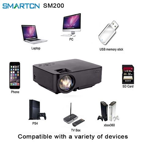 best micro led projector for presentation mini projector led beamer lcd projector smartcn limited