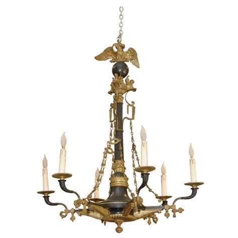 Chandeliers For Sale H Luppens Et Cie Bronze Chandelier For Sale Antiques