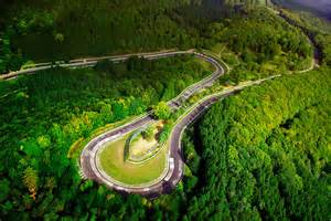 Custom Printed Duvet Covers Quot Aerial Shot Of The N 252 Rburgring Nordschleife Caracciolla