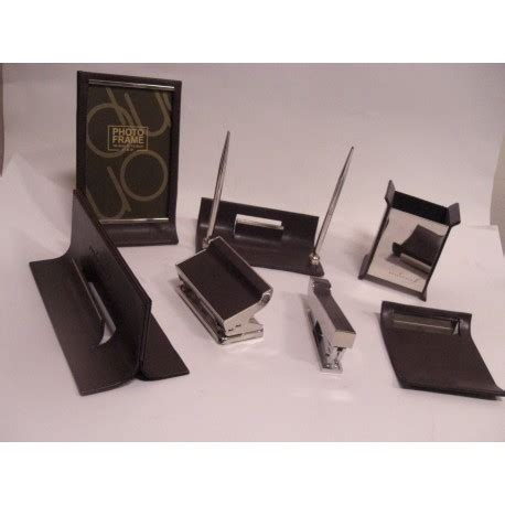 set per scrivania mono set accessori per scrivania meucci cartolibreria