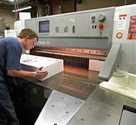 advance printing bindery and finishing