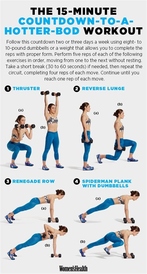 15 Minute Chest Workout Routine Best 20 Countdown Workout Ideas On