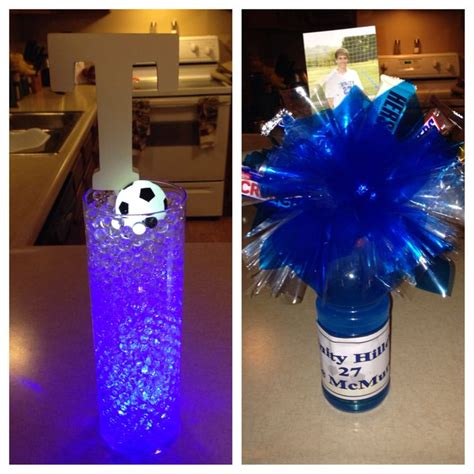 37 Best Images About Soccer Banquet Ideas On Pinterest Soccer Banquet Centerpiece Ideas